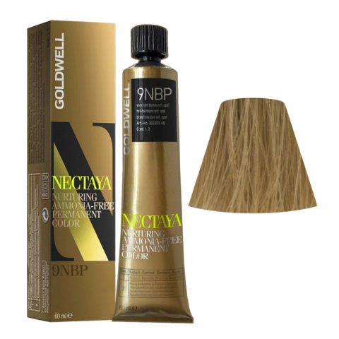 9NBP Very light blonde reflecting opal Goldwell Nectaya Enriched naturals tb 60ml