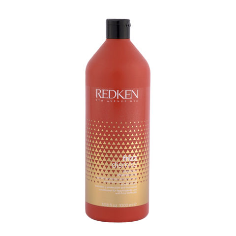 Redken Frizz dismiss Shampoo 1000ml - anti - frizz shampoo