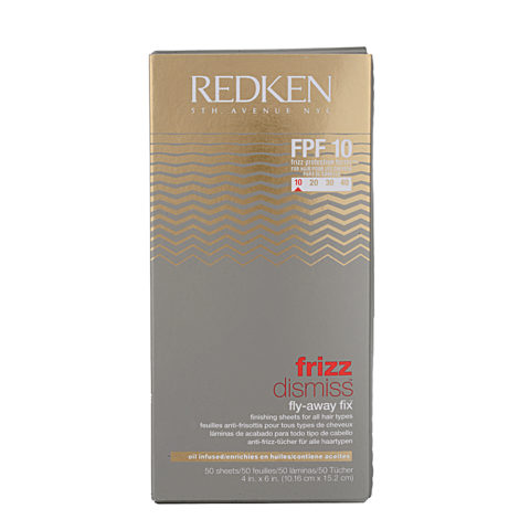 Redken Frizz dismiss Fly-Away Fix FPF 10 50 sheets