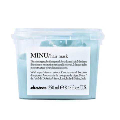 Davines Essential hair care Minu Hair mask 250ml - Illuminating mask
