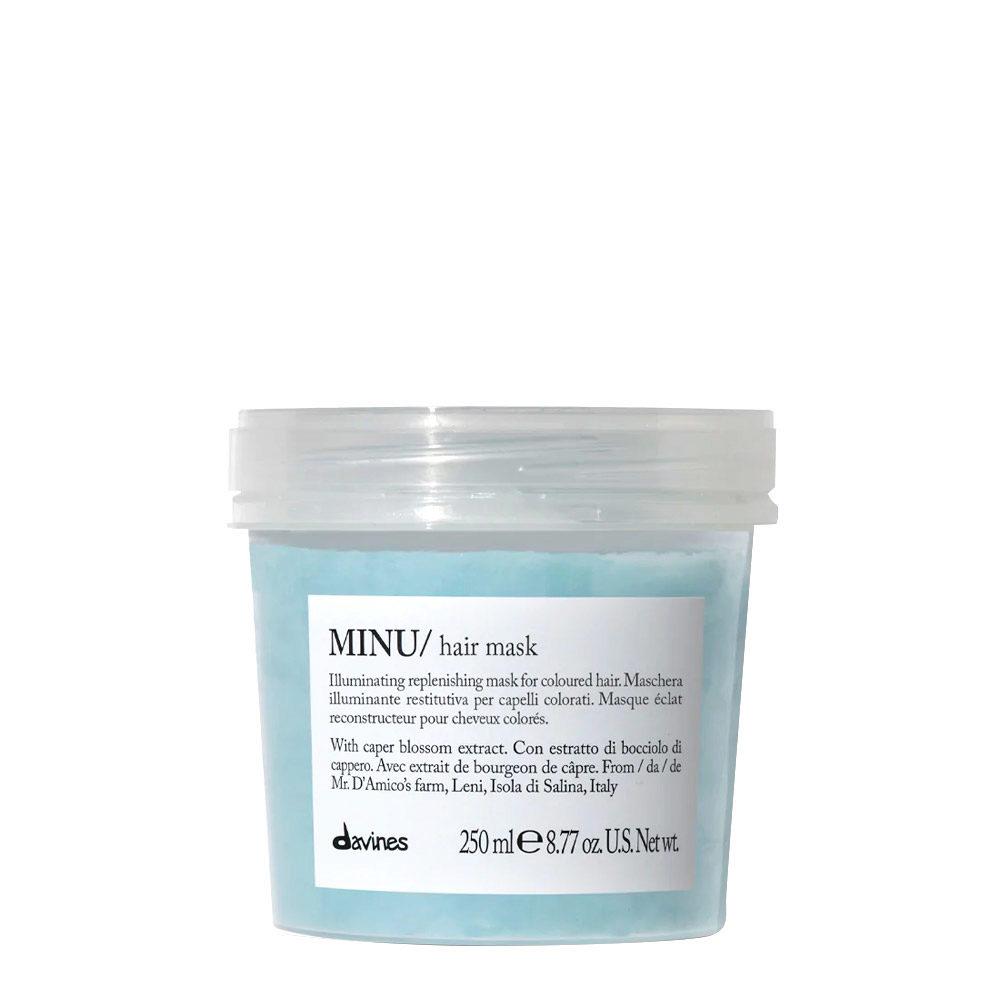Davines Essential hair care Minu Hair mask 250ml - Illuminating mask