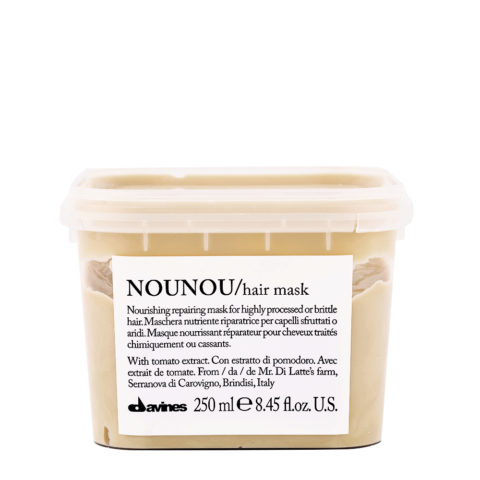 Davines Essential hair care Nounou Pak Hair Mask 250ml - Nourishing and repairing mask