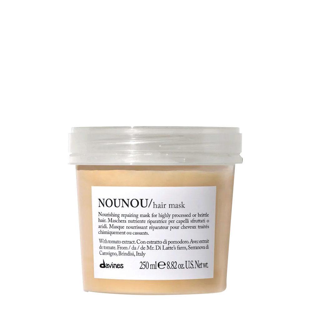 Davines Essential hair care Nounou Pak Hair Mask 250ml - Nourishing and repairing mask