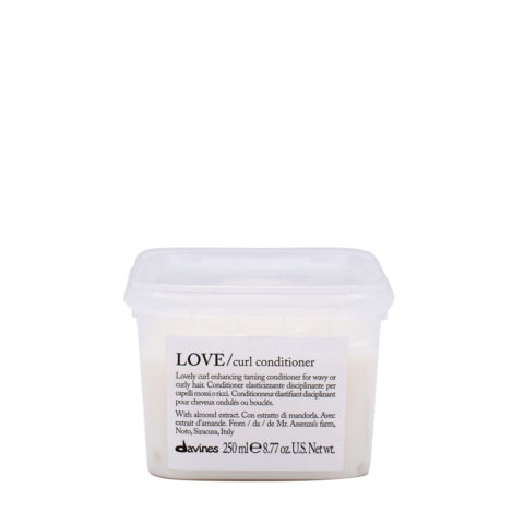 Davines Essential hair care Love curl Conditioner 250ml - Elasticising and controlling conditioner