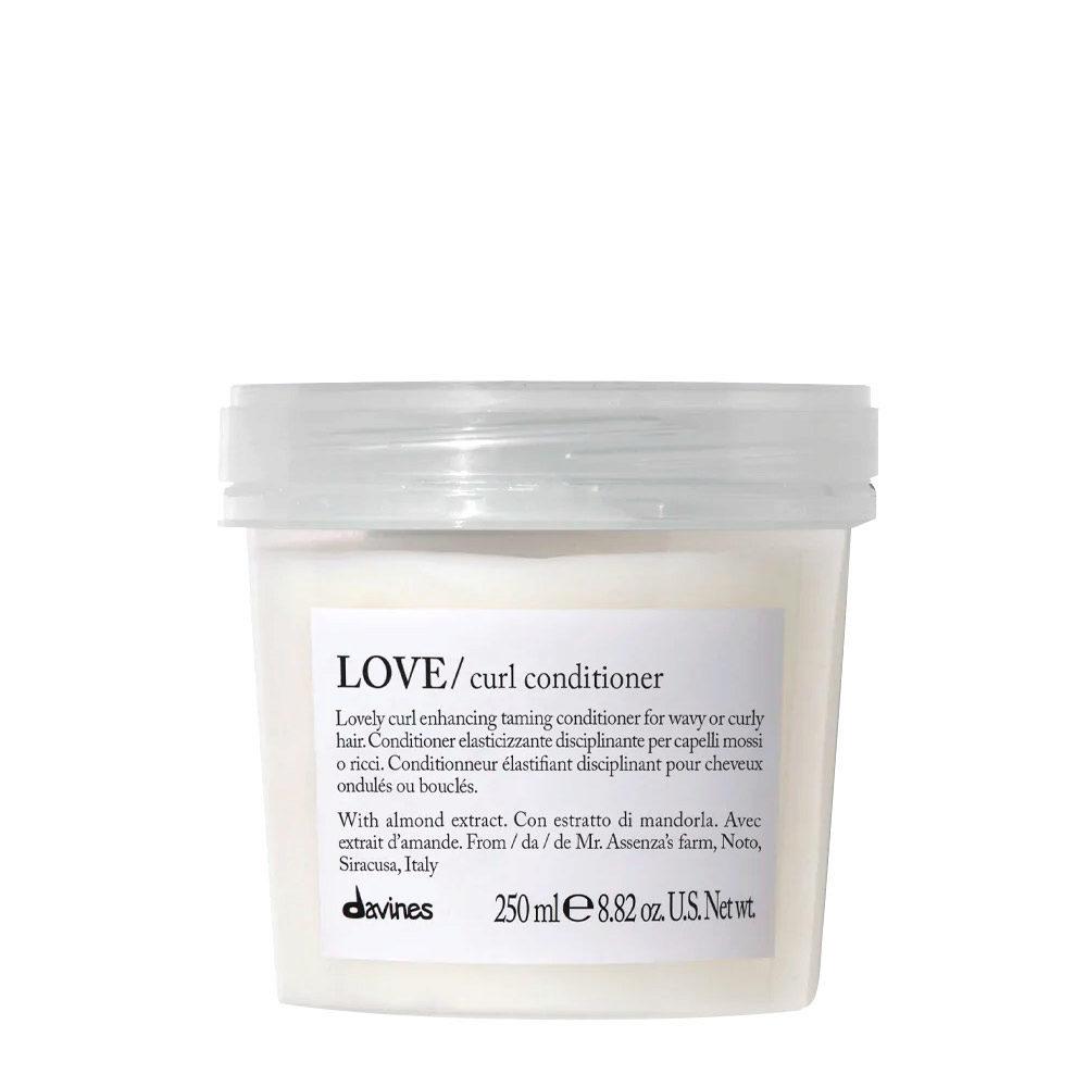 Davines Essential hair care Love curl Conditioner 250ml - Elasticising and controlling conditioner