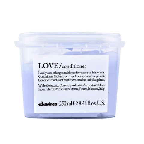 Davines Essential hair care Love smooth Conditioner 250ml - Smooth and anti-frizz