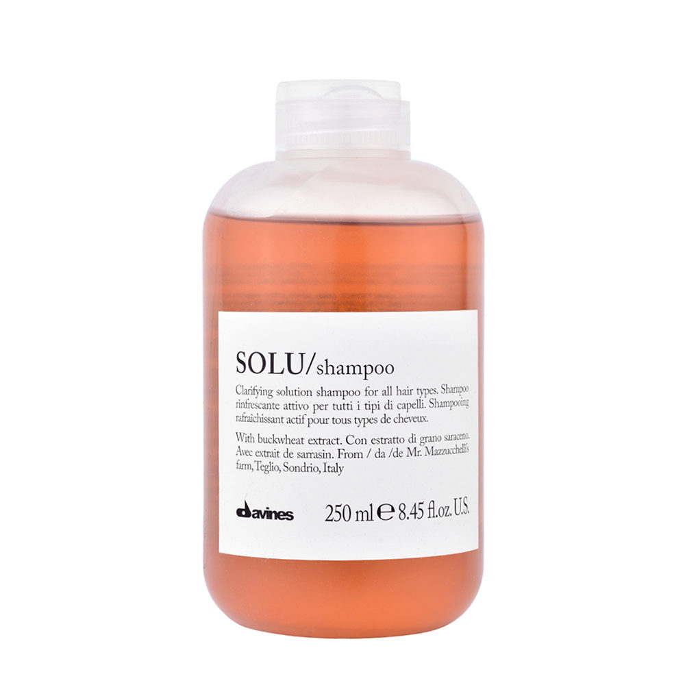 Davines Essential hair care Solu Shampoo 250ml - refreshing shampoo