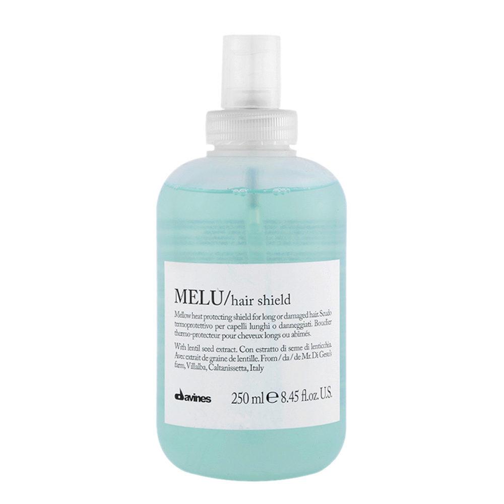 Davines Essential hair care Melu Hair shield 250ml - Heat protecting shield