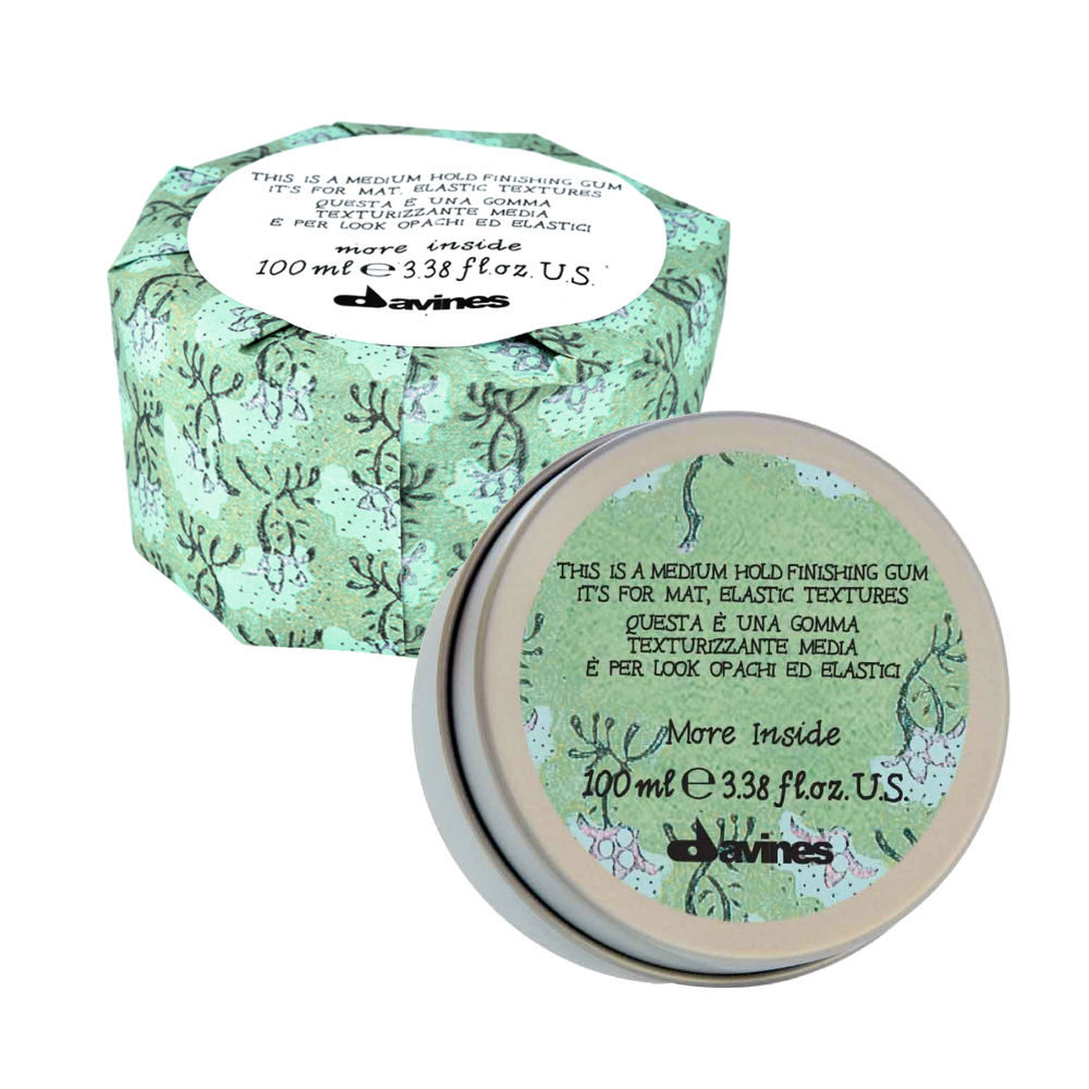 Davines More inside Medium hold finishing gum 75ml - medium hold paste
