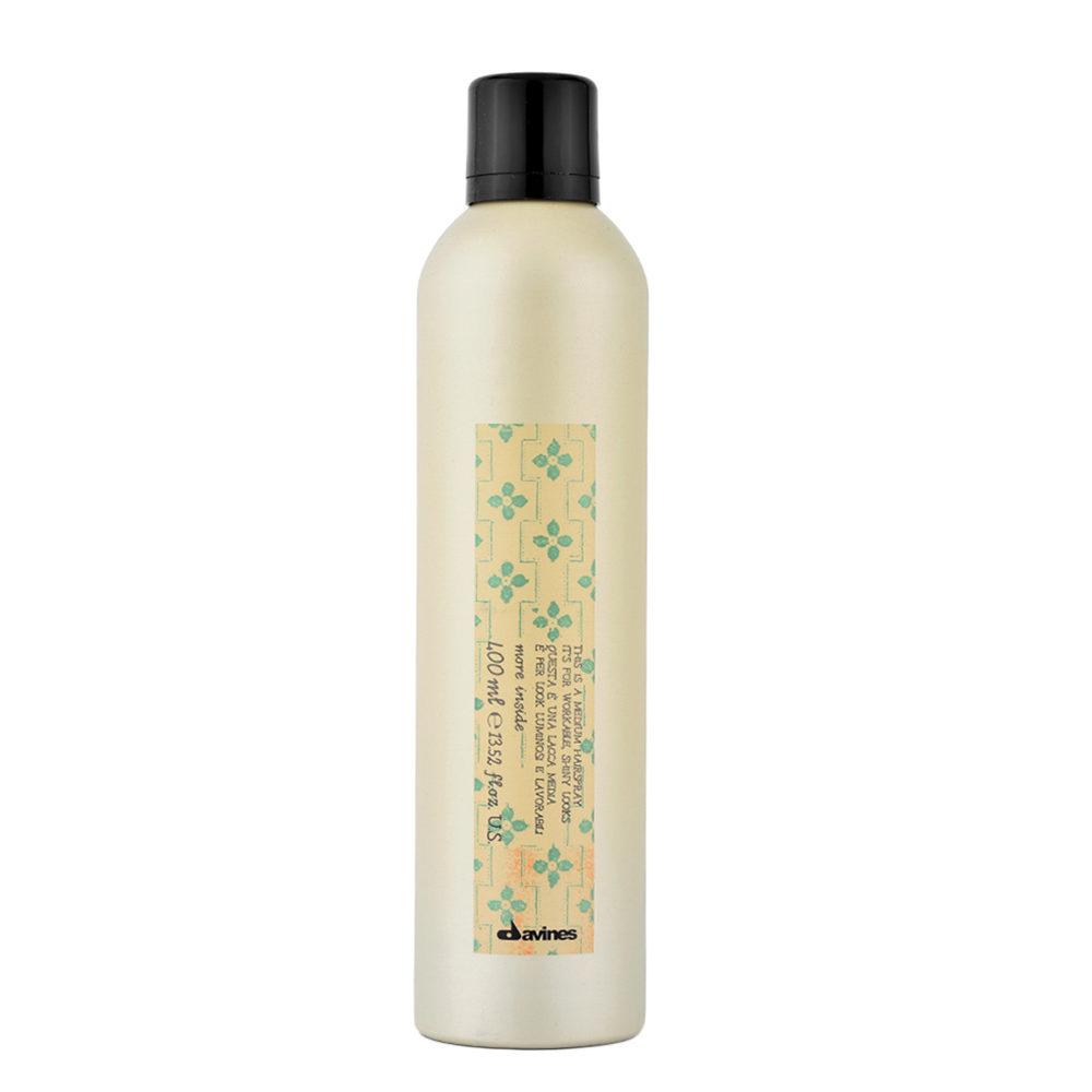 Davines More inside Medium hairspray 400ml - medium hold