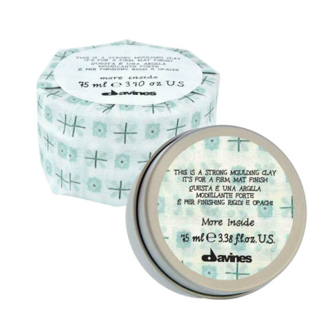 Davines More inside Strong moulding clay 75ml