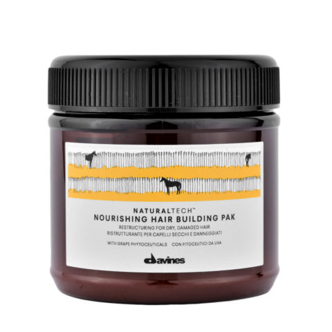 Davines Nourishing Hair Building Pak Hair Mask 250ml - Restructuring mask