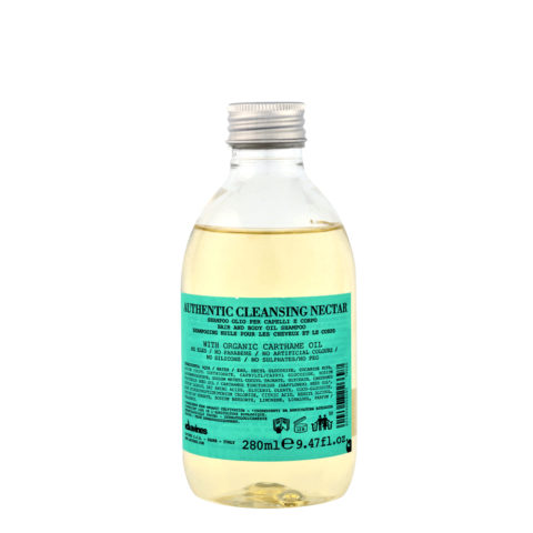 Davines Authentic Cleansing Nectar 280ml - Shampoo and body wash
