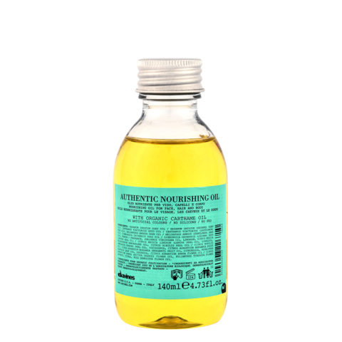 Davines Authentic Nourishing oil 140ml - nourishing oil for hair and body