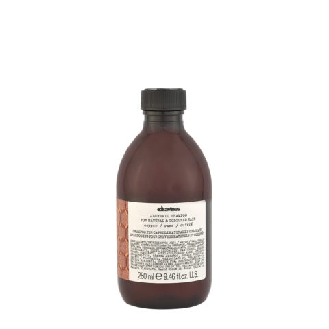 Davines Alchemic Shampoo Copper 280ml - Shampoo copper for hair colour
