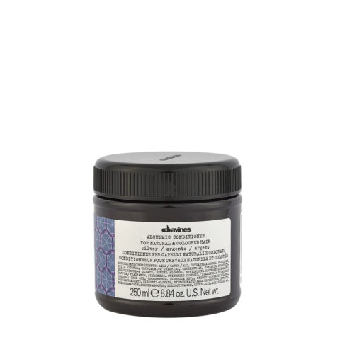 Davines Alchemic Conditioner Silver 250ml - Coloured conditioning cream