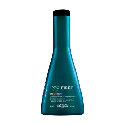 L'Oreal Pro fiber Restore Shampoo 250ml