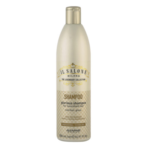 Alfaparf Il Salone Glorious Shampoo 500ml - For Dry To Damaged Hair