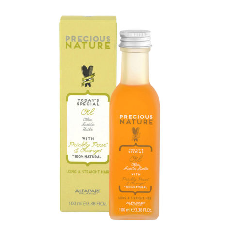 Alfaparf Precious nature Oil with Prickly pear & orange for Long/straight hair 100ml
