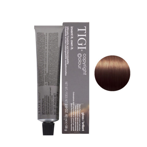 4/30 Golden natural brown Tigi Gloss 60ml