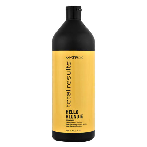 Matrix Total Results Hello blondie Camomile Shampoo 1000ml