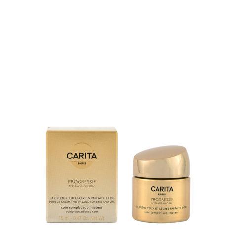 Carita Skincare Progressif Anti-age global La creme parfaite yeux et levres 15ml
