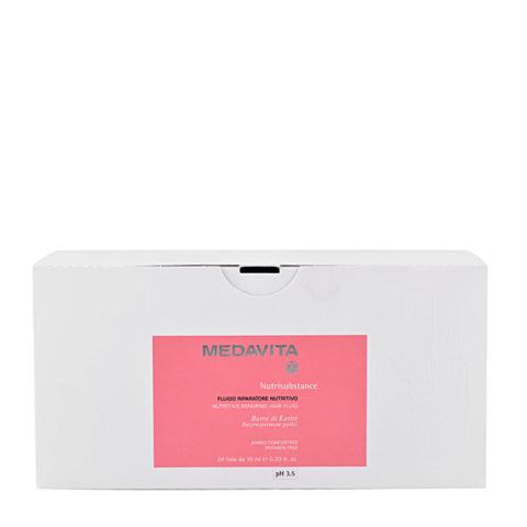 Medavita Lenghts Nutrisubstance Nutritive repairing hair fluid pH 3.5  24x10ml