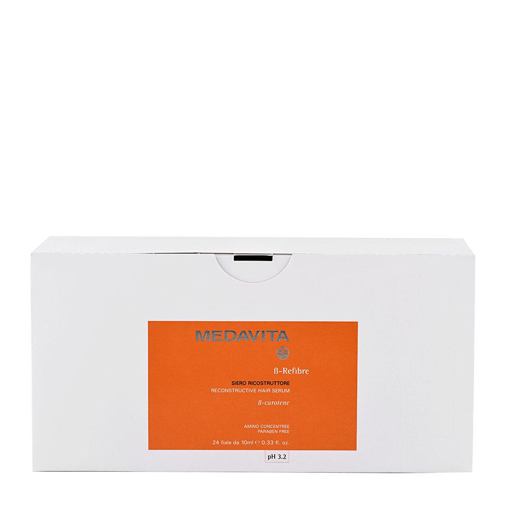 Medavita Lenghts Beta-Refibre Reconstructive hair serum pH 3.2  24x10ml