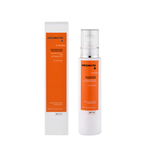 Medavita Lenghts Beta-Refibre Reconstructive hair microemulsion pH 3.2  150ml