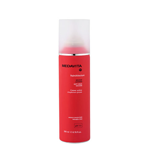 Medavita Lenghts Hairchitecture Soft hold mousse pH 7.5  200ml