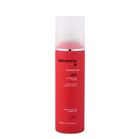 Medavita Lenghts Hairchitecture Extreme hold mousse pH 6  200ml