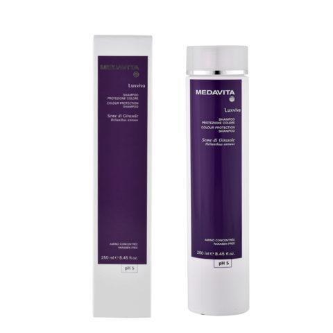 Medavita Lenghts Luxviva Colour protection shampoo pH 5  250ml