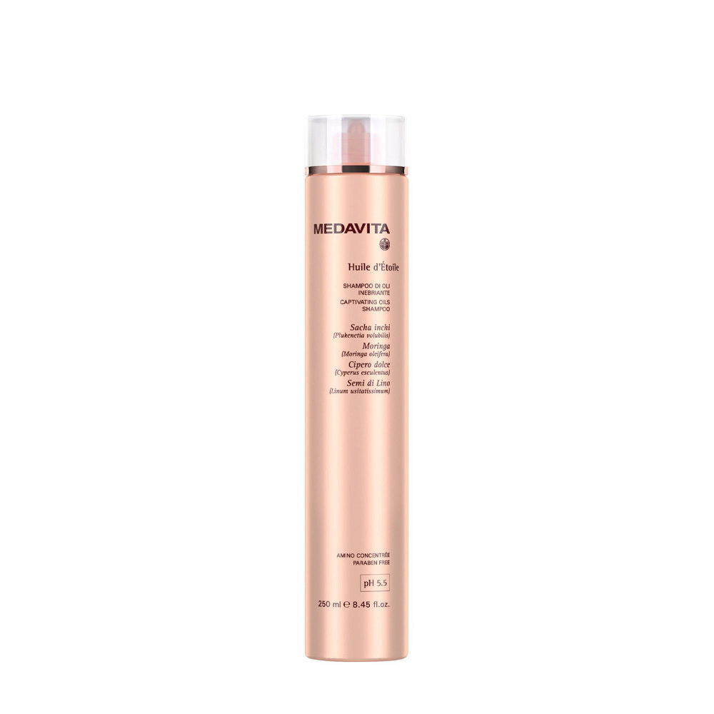 Medavita Lunghezze Huile d'etoile Captivating oils shampoo pH 5.5  250ml