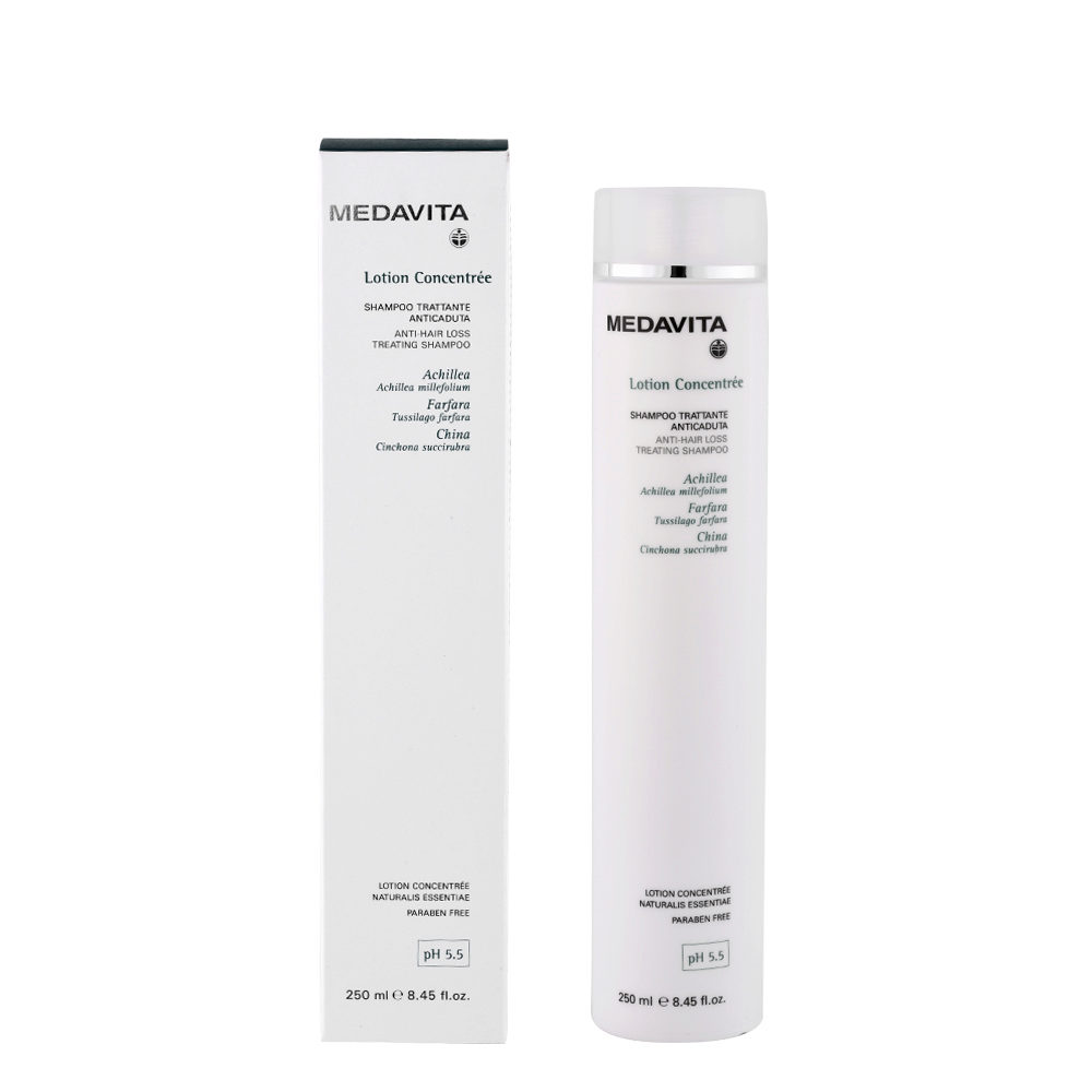 Medavita Scalp Lotion concentree Anti-hair loss treating shampoo pH 5.5  250ml