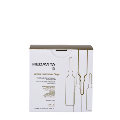 Medavita Scalp Lotion concentree Anti-hair loss intensive treatment - super pH 3.5  12x7ml