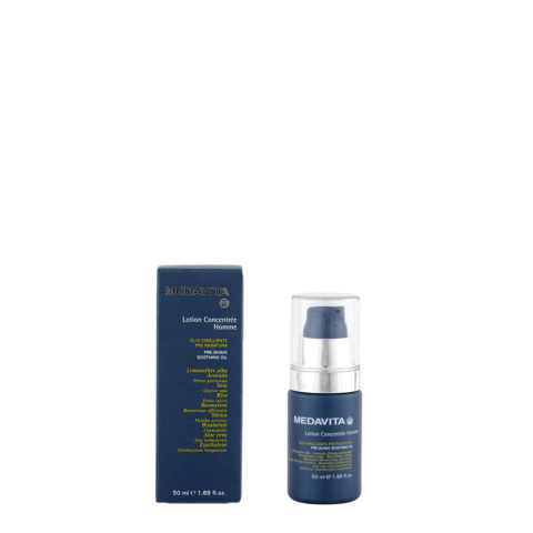 Medavita Scalp Lotion concentree homme shave Pre-shave soothing oil 50ml