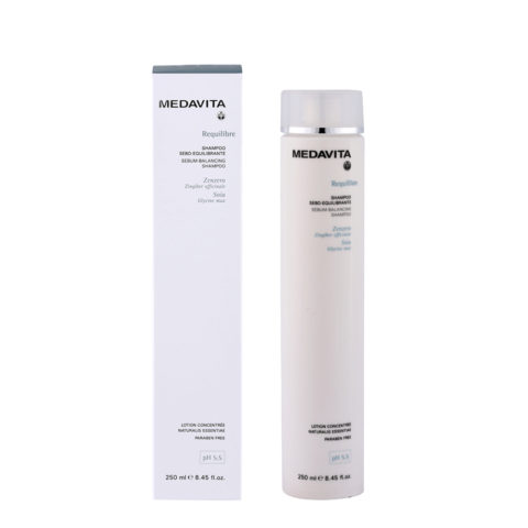 Medavita Cute Requilibre Sebum-balancing shampoo pH 5.5  250ml
