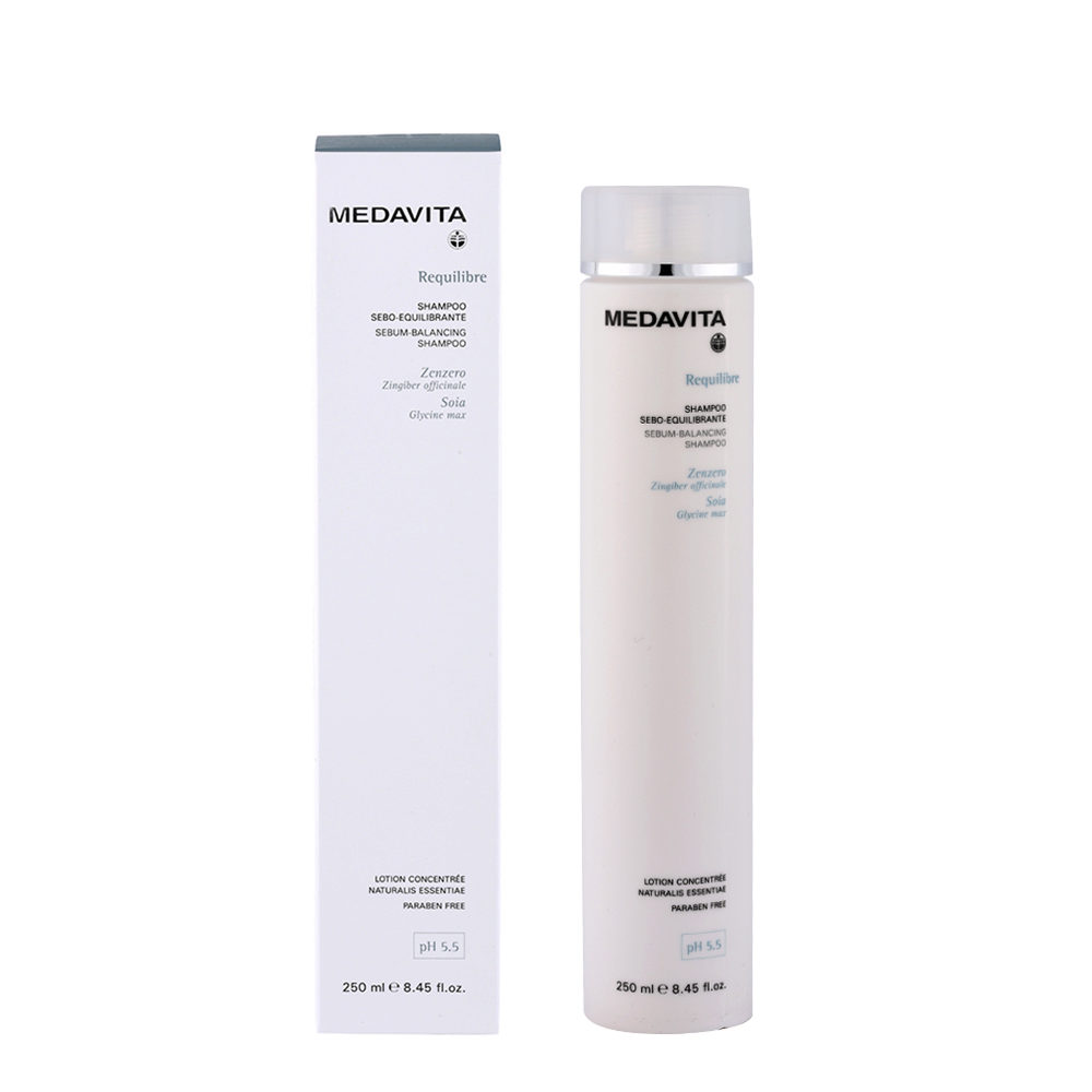 Medavita Cute Requilibre Sebum-balancing shampoo pH 5.5  250ml