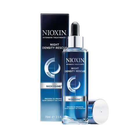 Nioxin Night density rescue 70ml - antihairloss night serum