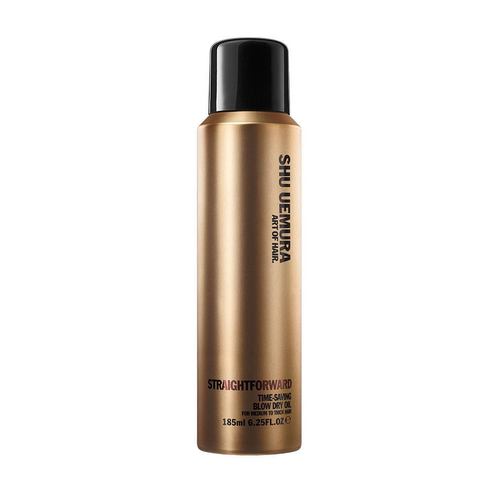 Shu Uemura Straightforward Time-saving blow dry oil spray 185ml