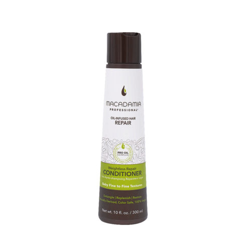 Macadamia Weightless moisture Conditioner 300ml - hydrating conditioner fine hair