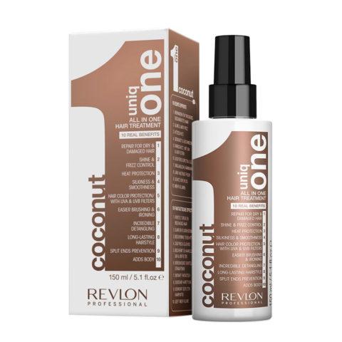 Uniq one All in one Coconut hair treatment Spray 150ml - coconut treatment