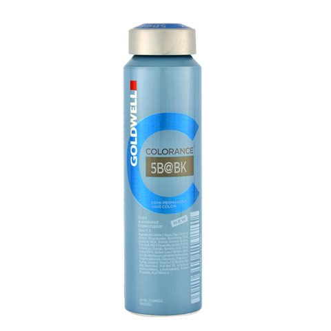 5B@BK Brazil elumenated brown copper Goldwell Colorance Elumenated naturals can 120ml