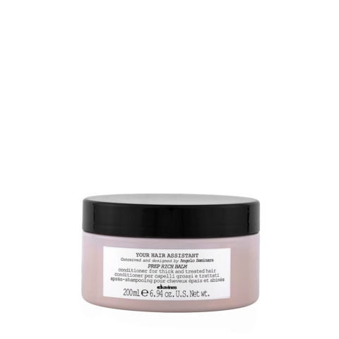 Davines YHA Prep Rich balm 200ml - Moisturizing conditioner