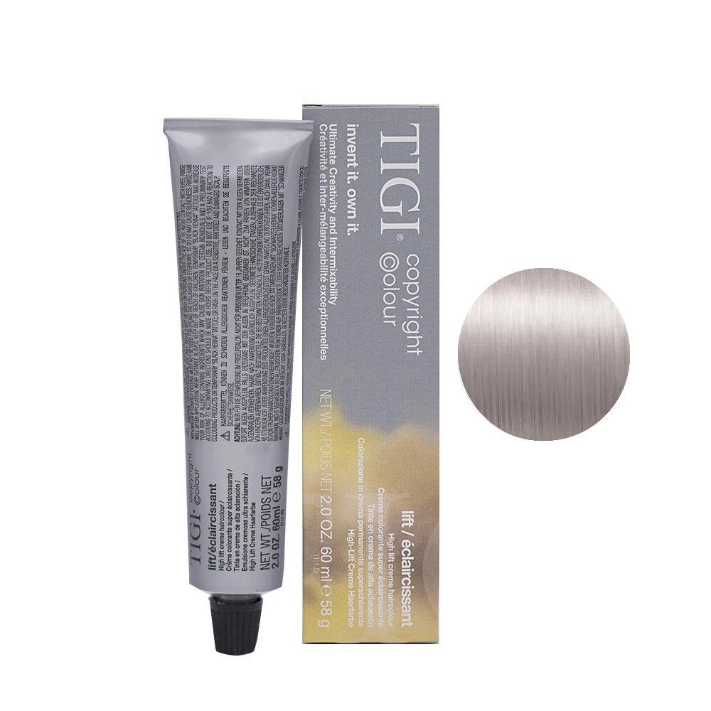 100/82 Ultra light ash violet blonde Tigi Lift 60ml