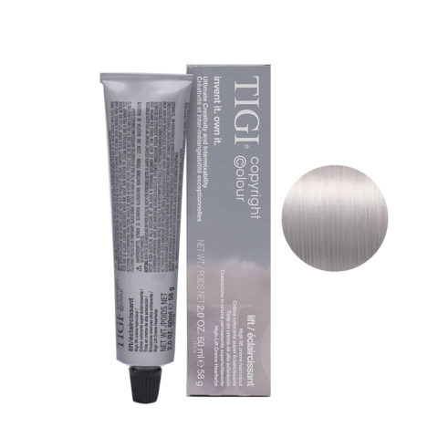 100/21 Ultra light violet blue blonde Tigi Lift 60ml