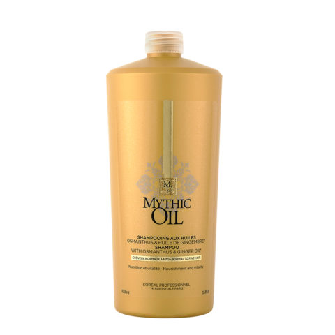 L'Oreal Mythic oil Shampoo Normal to fine hair 1000ml