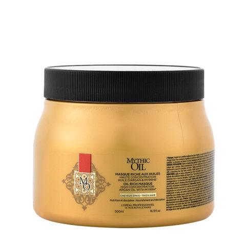 L'Oreal Mythic oil Rich masque Thick hair 500ml