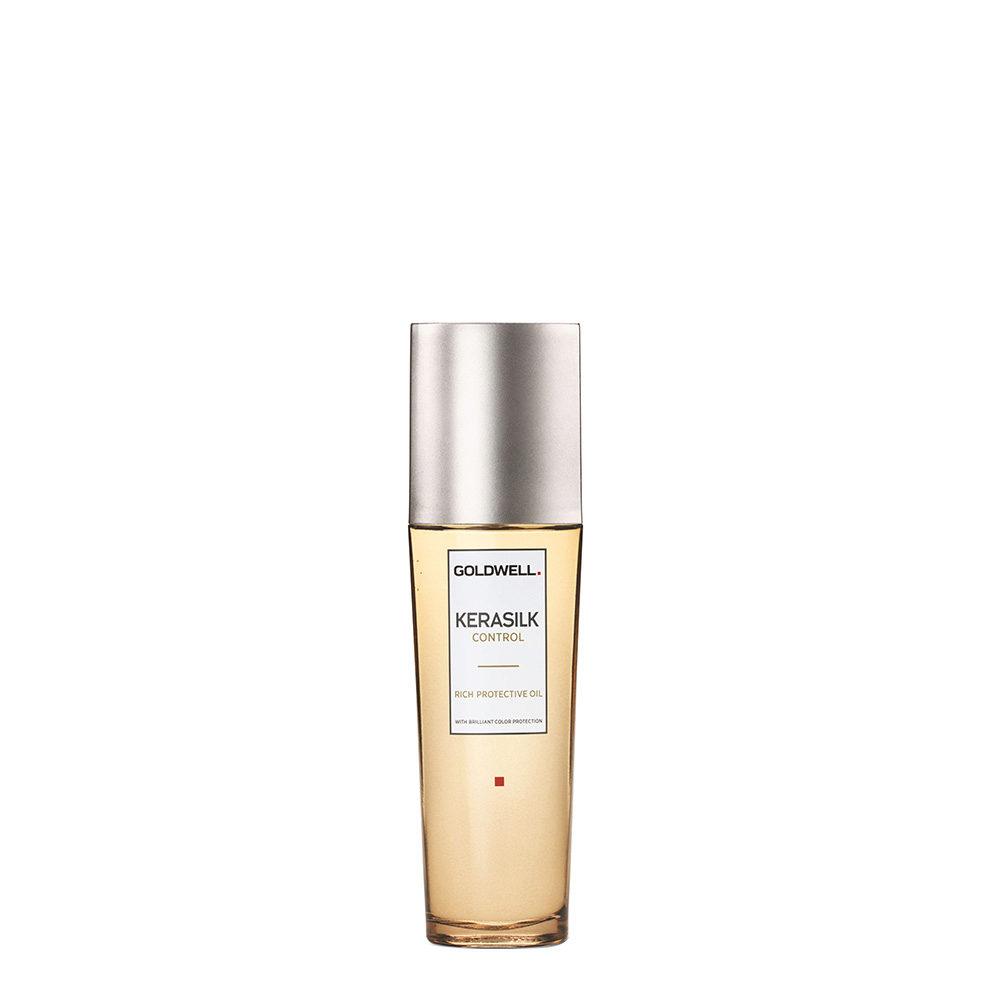 Goldwell Kerasilk Control Rich protective oil 75ml - Anti Frizz Hair