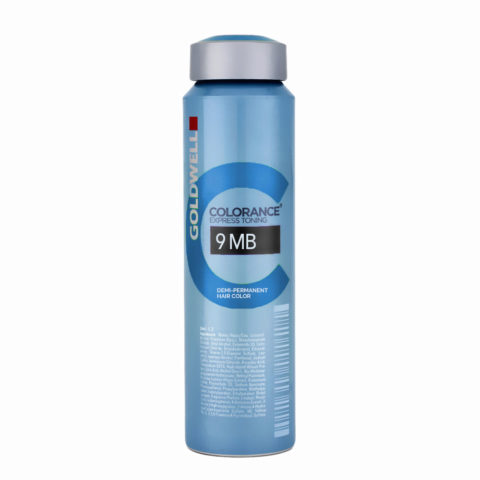9MB Very light jade blonde Goldwell Colorance Cool blondes can 120ml